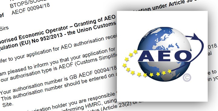 GTSMRO have been granted AEO status